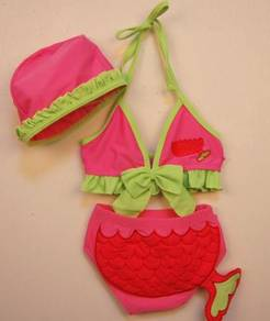 (SS17-L) New Korean Style Bikini Swimsuit For Kids