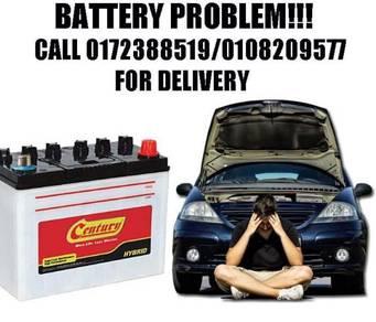 Bateri kereta penhantaran Car batteri century
