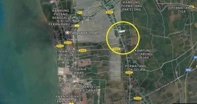 1-ST GRADE LAND (4.4ac) Jalan Permatang Binjai 2-KM to Telok Air Tawar