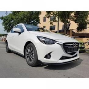 Mazda 2 hatchback bodykit oem w spoiler n paint