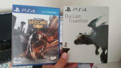 PS4 Last Guardian dan Infamous