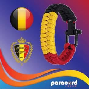 Limited Belgium Paracord Bracelet World Cup 2018