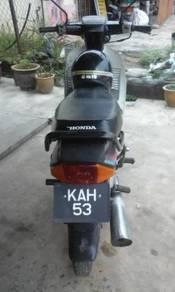 Honda EX5 vip plate KAH53
