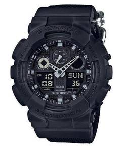 Watch- Casio G SHOCK BLACK OUT GA100BBN -ORIGINAL