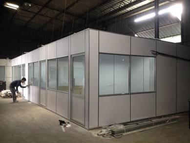 Partition / ceilings/ aluminium glass