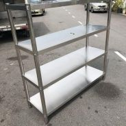 5Ft 4 tier rack ( rack )
