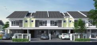 Taman Nusa Damai Double Storey Terrace House for SALE