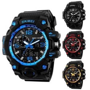 SKMEI 1155 Men Hybrid Digital Sports Watch 0071
