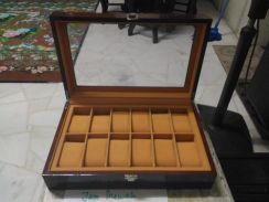 Solid Wood Watch Box Rado Tissot Guess