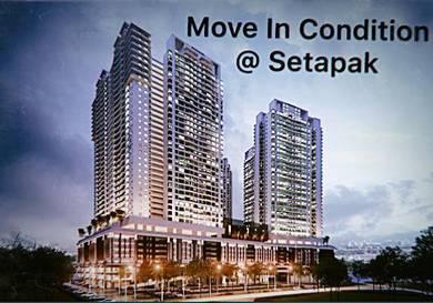 [ New Condo ] [Move In Condition] KL Trader Square, Setapak