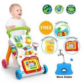 FB145 Walker Baby Learn Walk Stand Trolley