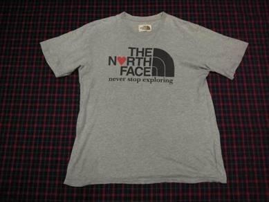 The North Face Love Grey T-Shirt L (Kod TS4289)