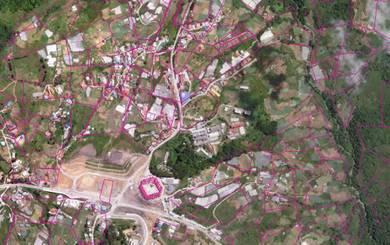 Kundasang land with Chalet
