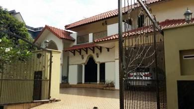 EXCLUSIVE 2sty Bungalow Seksyen 7 Shah Alam 10k sf Land (Rumah Banglo)