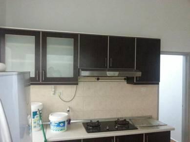 Sri raya apartment, penthouse, aircond,furnish