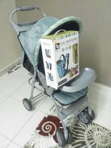 Stroller & baby carrier( jenama anakku)