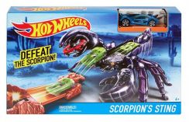 Hot Wheels Scorpion Sting Track