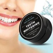 Teeth Whitening Powder Organic Charcoal Bamboo