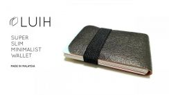 LUIH - Super Slim Minimalist Wallet