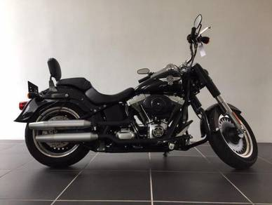 Harley-Davidson FLSTFB1580 Fat Boy Unregistered