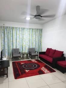 Dwiputra residence, 3 bedroom fully furnished, Putrajaya [ hot deal ]