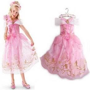 FREE TIARA* Princess Belle Elegance Costume PINK