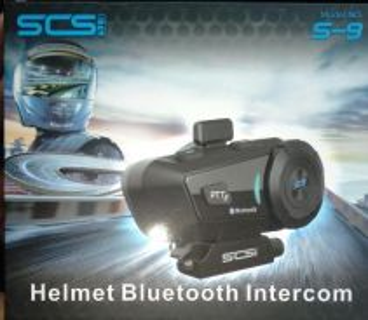 Scs helmet bluetooth intercom
