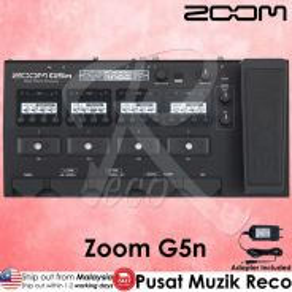 New Zoom G5n Guitar Multi Effect Pedal