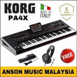 Korg PA4X Professional Arranger Workstation,61 Key