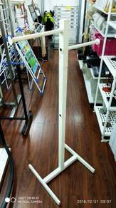 2 Way Clothes Stand ( Wh )