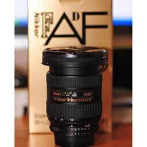 Nikon 18-35mm f3.5-4.5 D ED AF Wide Zoom Lens