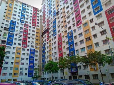 Flat PPR Jalan Semarak, Setapak, Near with all convenience, For RENT!!