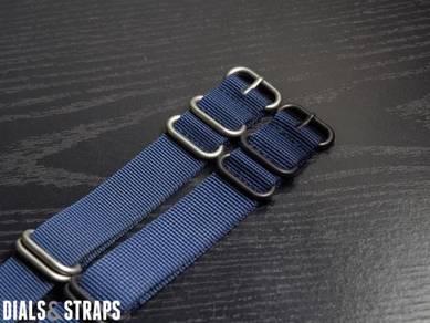 Navy Zulu Strap