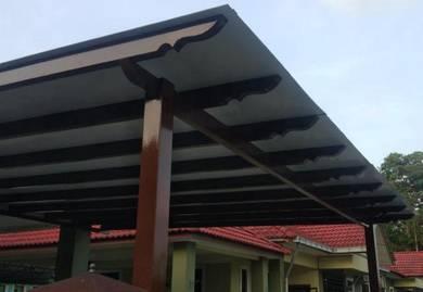 Polyglass dan awning aluminium composite