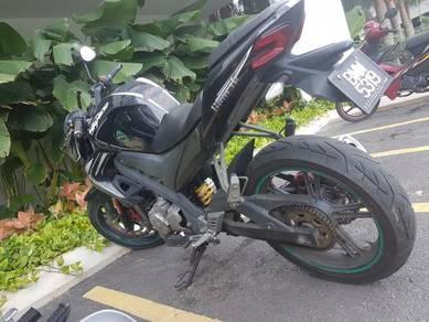 BEST DEAL Demak Skyline 200cc 2014 black edition S