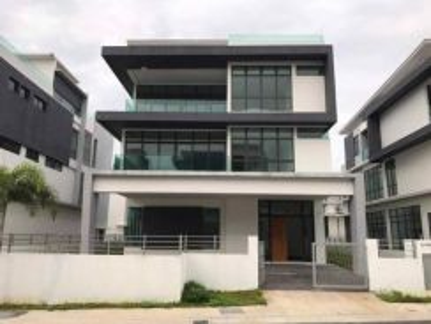 New 3 storey bungalow freehold laman villa pekan baru meru klang