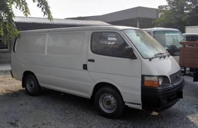 2002 Toyota Hiace Panel Van 2.5