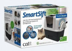 Model Baru Catit Design SmartSift Cat Pan.Grey