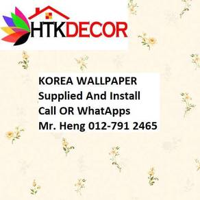 3D Korea Wall Paper with Installation 82FG