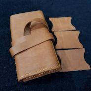 Handmade Genuine Leather Watch Roll Pouch
