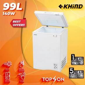 Khind FZ99 Chest Freezer (99Liter) New arrival