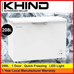 Khind 200Liter Chest Freezer FZ208W ~New Design