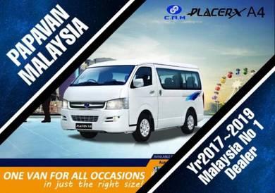 CAM Placer X A4 Kingo Urvan 12 15 18 Seat Van Auto