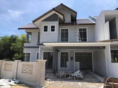 Rumah berkembar 2 tingkat untuk dijual