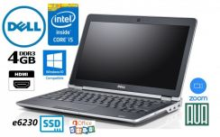 Dell E6230 Core i5 4GB SSD WebCAM Win10 Ultrabook