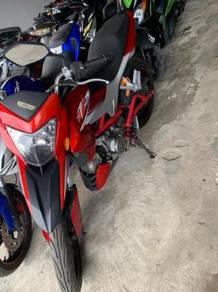MOTOR BARU SEPARUH Harga (DZR 120)
