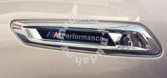BMW F10 Side Fender M Performance Sticker OEM 2pcs