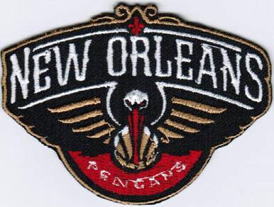 NBA New Orleans Pelicans National Basketball Patch