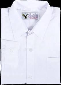 Falcon Baju Sekolah Kemaja Panjang