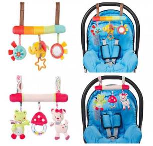 Soft Plush animal Toys hanging carseat/stroller Ra